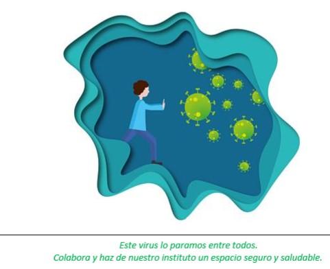 Medidas  en el IES frente al coronavirus. Circular informativa 2 septiembre