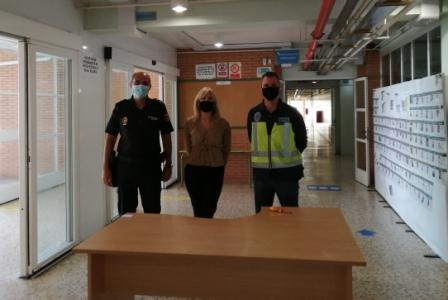 Colaborando con la Policía Nacional