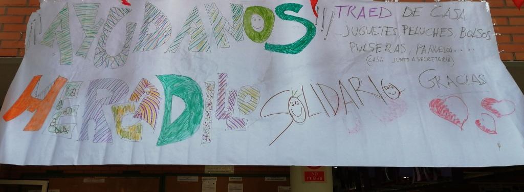 ¿Quieres colaborar con el Mercadillo Solidario?