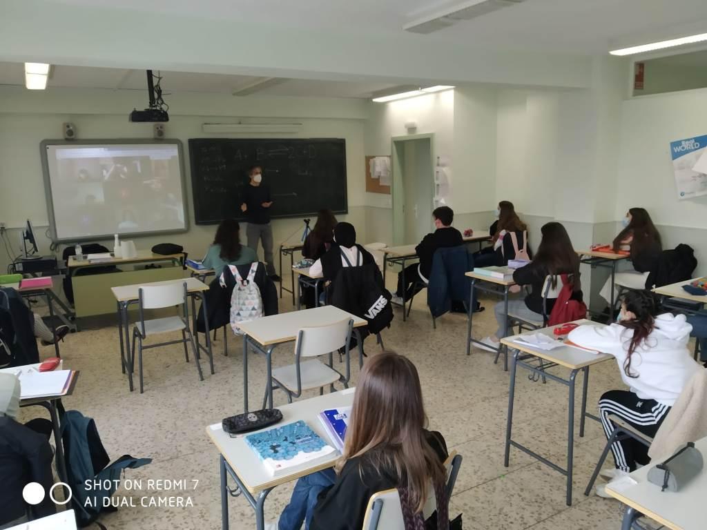 Teleconferencias con las universidades para los alumnos de 2º Bach.