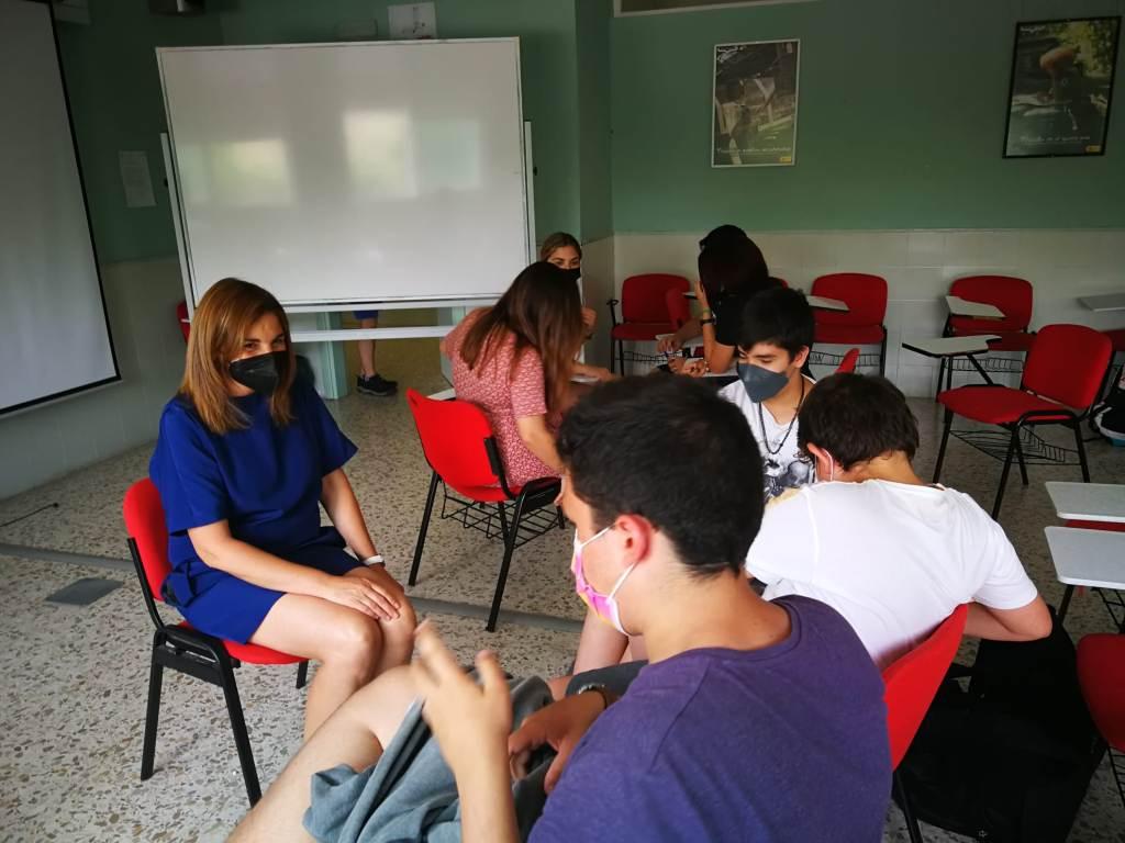 Los alumnos del programa de Mediación